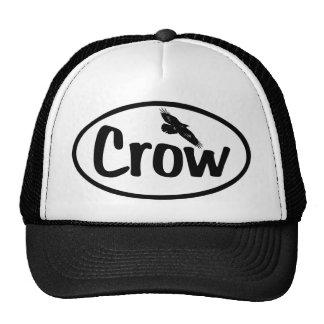 Crow Oval Trucker Hat