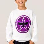 Crow Pentacle - Purple Sweatshirt