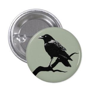 Crow Pin Redondo De 1 Pulgada