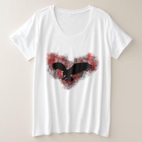 Crow Plus Size T_Shirt