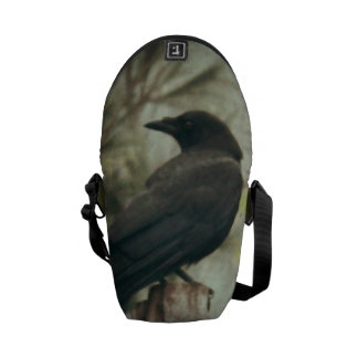 Crow/Raven Photo Messenger Bags