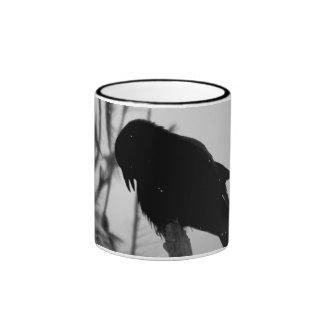 Crow/Raven Photo Ringer Mug