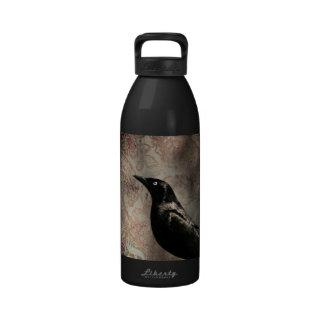 Crow/Raven Photo Water Bottles