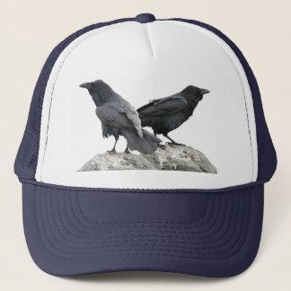 Crow Raven Trucker Hat