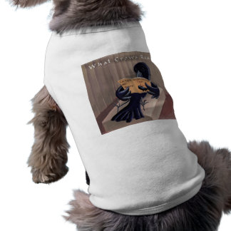 Crow Reading The Raven Funny Shirt