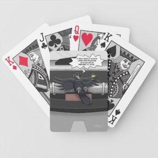 Crow Self-Help Playing Cards