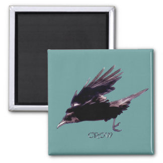 CROW Series 2 Inch Square Magnet