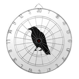 Crow Silhouette Dartboards