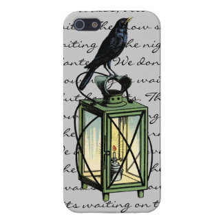 Crow Sits On The Night Lantern iphone5 case