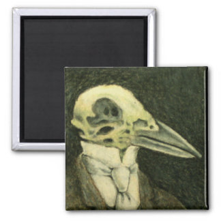 Crow Skeleton Magnet