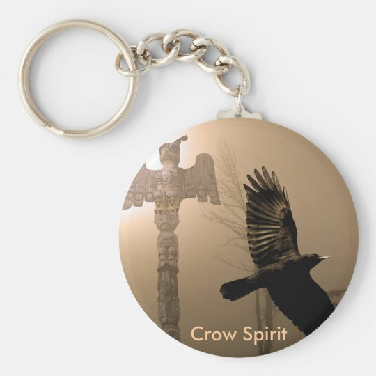 CROW SPIRIT Collection Keychain