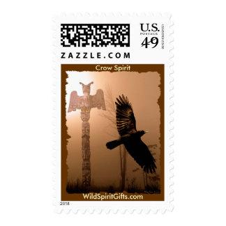 CROW SPIRIT Collection Stamp