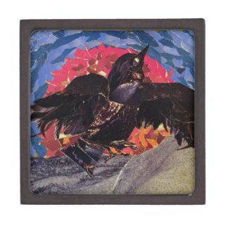Crow Takes Flight Jewelry Box