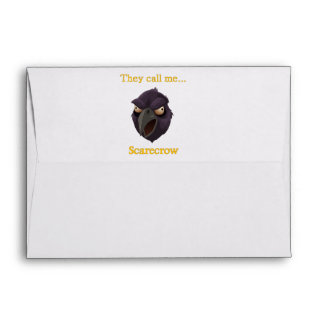 Crow They call me...Scarecrow Envelope