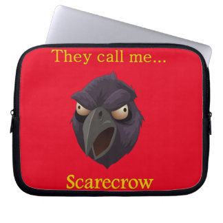 Crow They call me...Scarecrow Laptop Sleeve