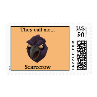 Crow They call me...Scarecrow Postage
