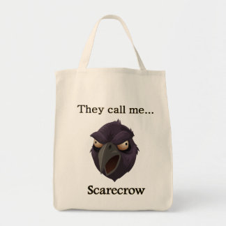 Crow They call me...Scarecrow Tote Bag