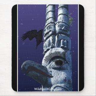 Crow & Totem Mousepad