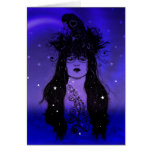 Crow Woman Card