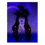 Crow Woman Post Card