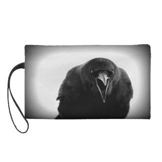 Crow Wristlet Purse