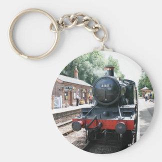 Crowcombe Heathfield station, WS Railway Basic Round Button Keychain