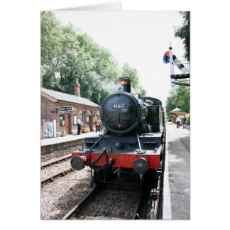 Crowcombe Heathfield station, WS Railway Card
