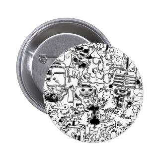 crowd 2 inch round button