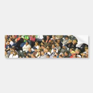 Crowd Bumper Sticker