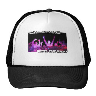 Crowd Club Space Silhouette Trucker Hat
