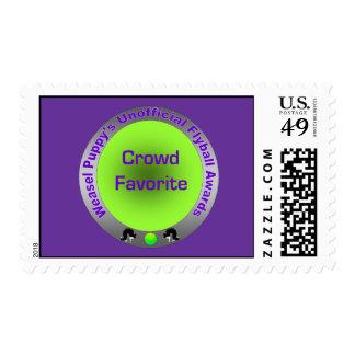 Crowd Favorite Flyball Award Stamp