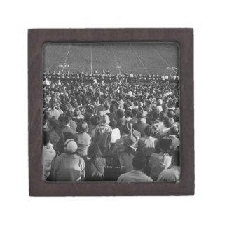 Crowd in stadium premium keepsake box