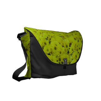 Crowd of Flowers Courier Bag