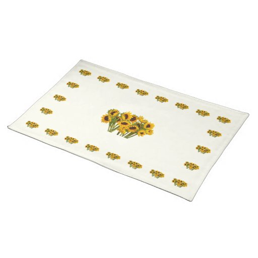 Crowd of Sunflowers Placemats