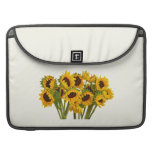 Crowd of Sunflowers Sleeve For MacBook Pro