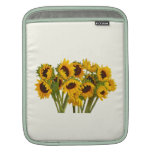 Crowd of Sunflowers Sleeves For iPads