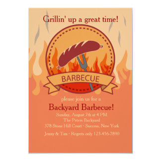 Crowd Pleaser Barbecue Invitation