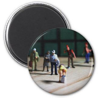 Crowd Puller 2 Inch Round Magnet