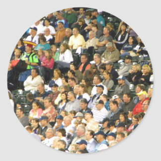 Crowd Round Sticker