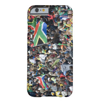 Crowd shot at a soccer game, with South African Barely There iPhone 6 Case