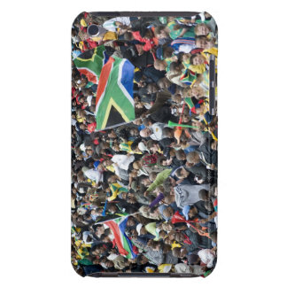 Crowd shot at a soccer game, with South African Case-Mate iPod Touch Case