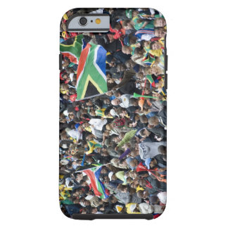 Crowd shot at a soccer game, with South African Tough iPhone 6 Case