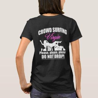 Crowd Surfing Virgin (wht) T-Shirt