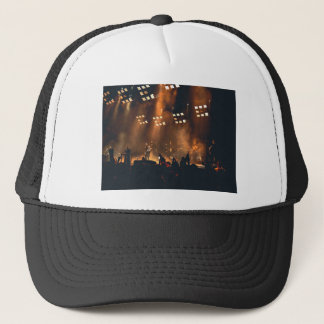 Crowd Themed, View Of Stage From Audience At Music Trucker Hat
