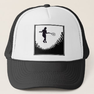 CROWD WOMENS TENNIS TRUCKER HAT