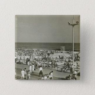 Crowded Beach Button