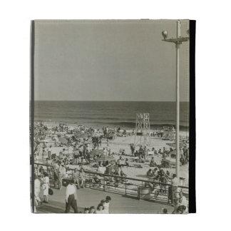 Crowded Beach iPad Folio Cases