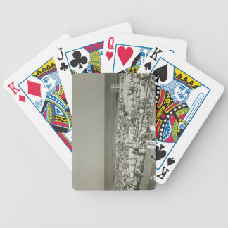 Crowded Beach Bicycle Poker Cards