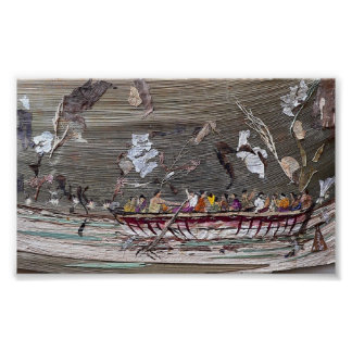 Crowded Boat Poster