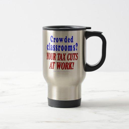 Crowded classrooms mugs